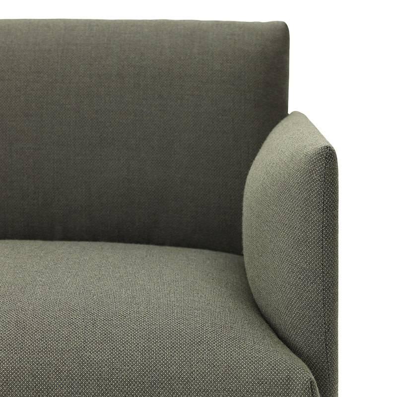 Muuto Outline Canapé - Chaise Longue droite