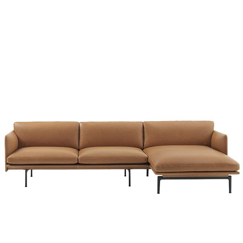 Peachy Muuto Outline Sofa Chaise Longue Rechts Ocoug Best Dining Table And Chair Ideas Images Ocougorg