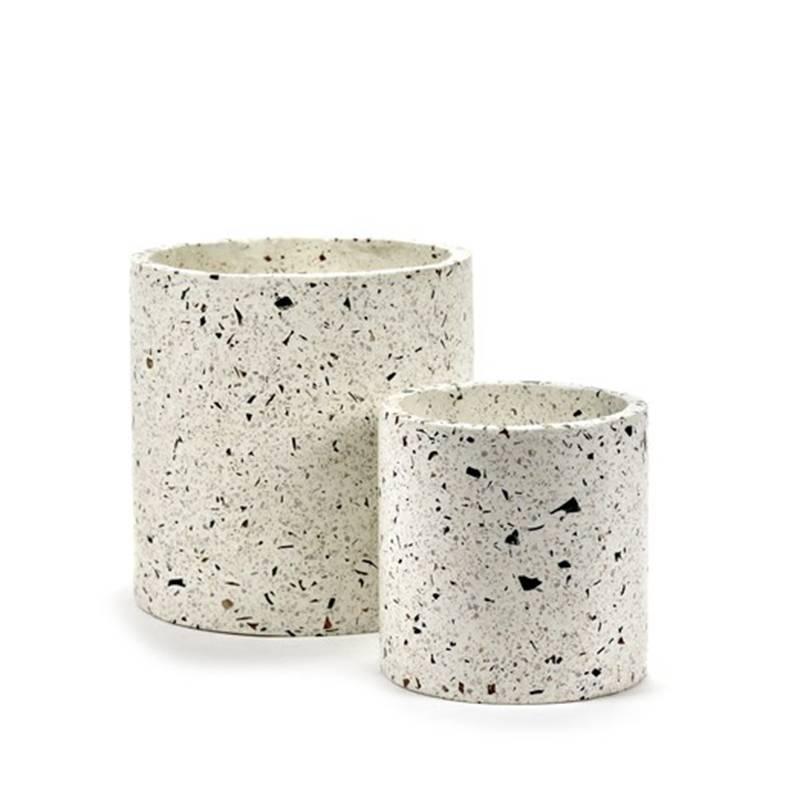 Serax Pot Terrazzo wit S (Ø18cm )