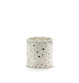 Serax Pot Terrazzo blanc