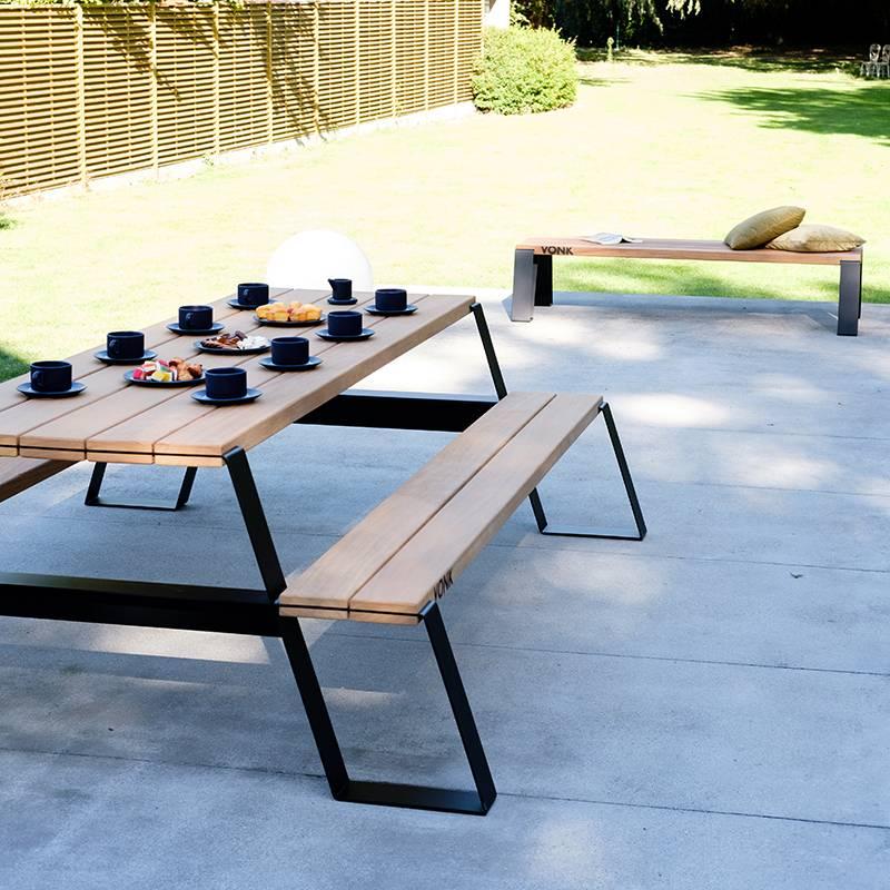 Vonk Fuse Table à pique-nique (noir)