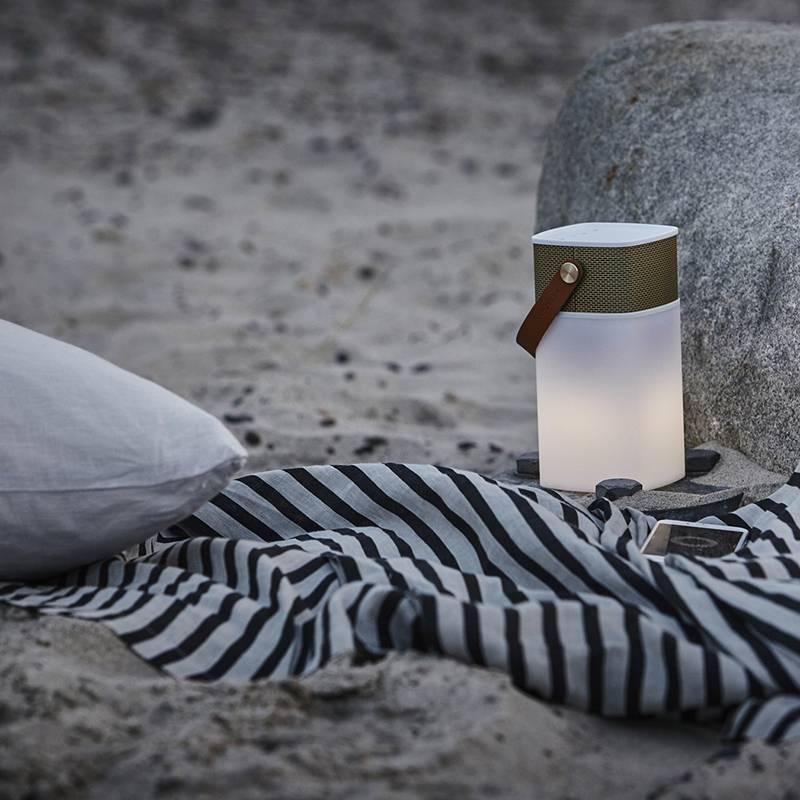 Kreafunk aGlow speaker & LED lamp