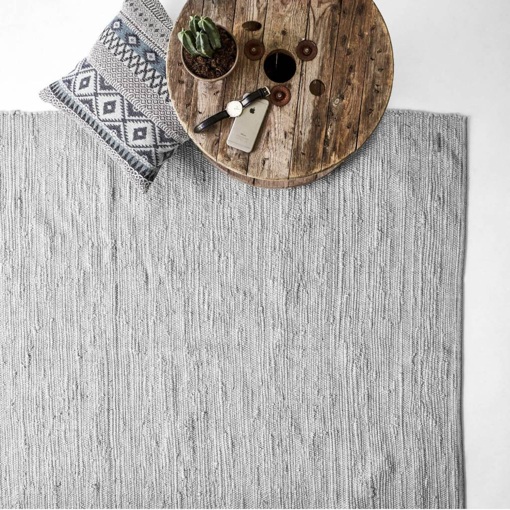 Rug Solid Coton tapis 170 x 240 cm