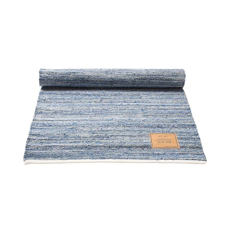 Rug Solid Tapis en jeans 80 x 240 cm