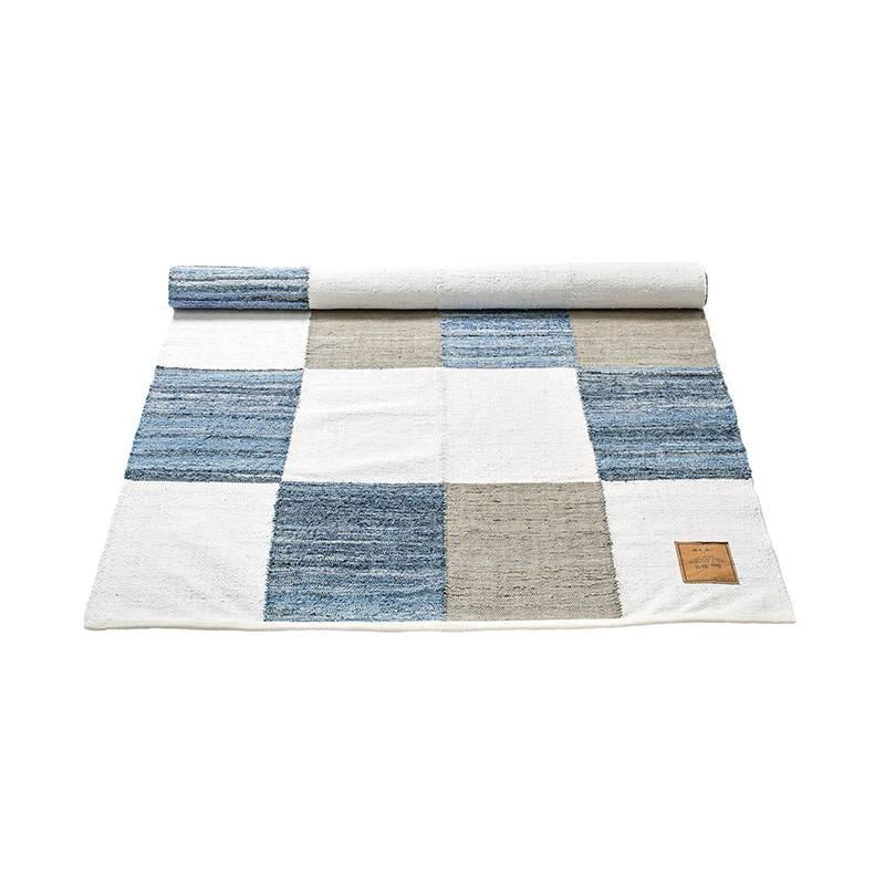 Rug Solid Tapis en jeans 160 x 240 cm