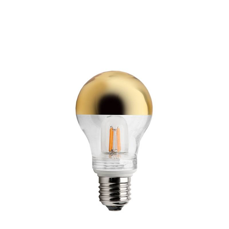 zangra Lampe miroir couronne or E27 LED 2.5W