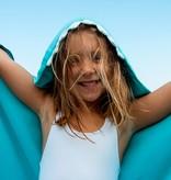 Little champions Swim badcape Haai blauw