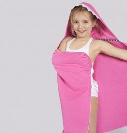 Little champions Swim badcape Haai roze