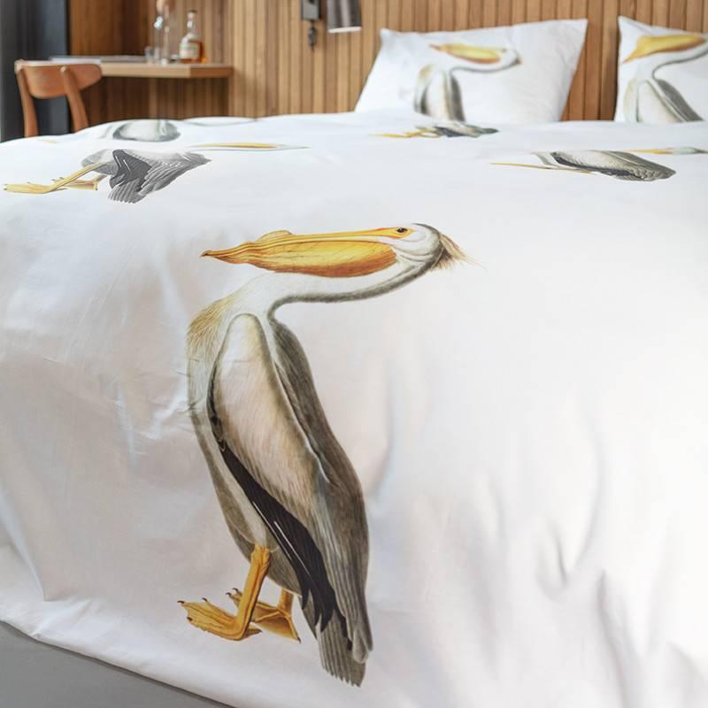 SNURK beddengoed Housse de couette Pelican 1p