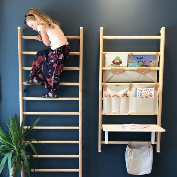 Kaos Sac de rangement Canvas shelf