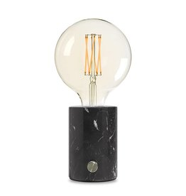 Edgar Lampe de table Orbis marbre