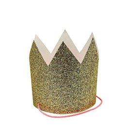 Meri Meri 8 Mini gouden kroontjes