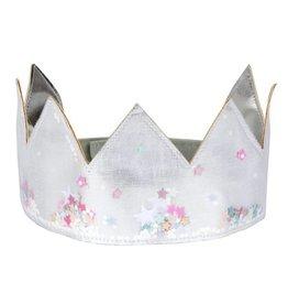 Meri Meri Zilveren kroon met sterretjes