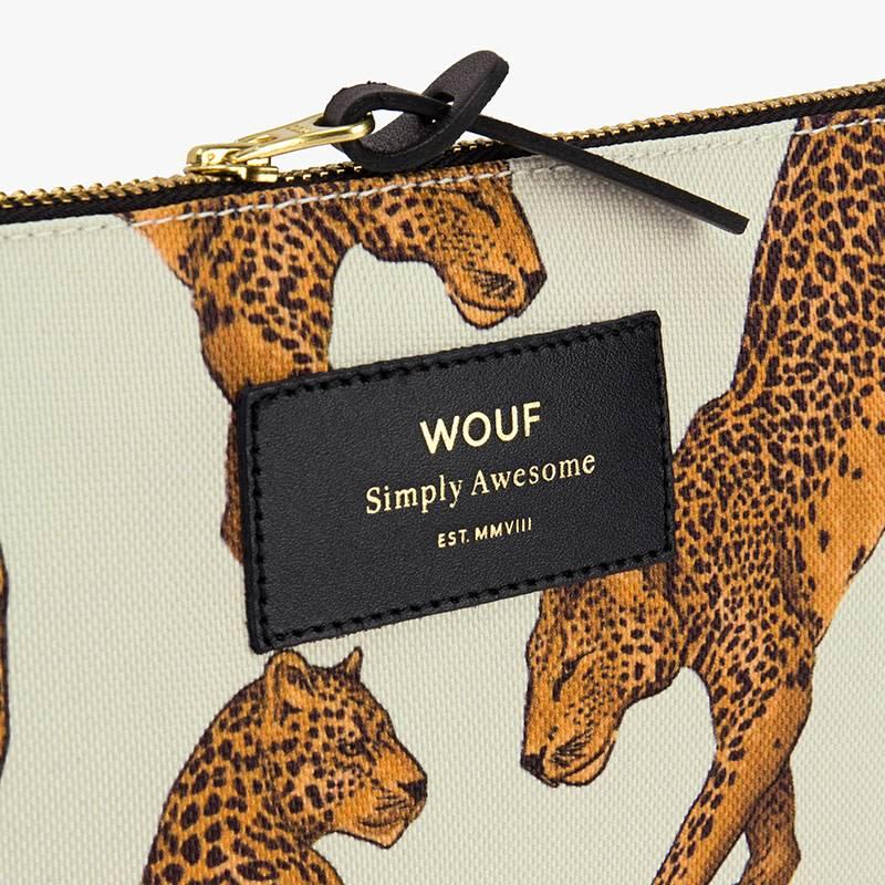 Wouf Pouch L (verschillende prints) - Wouf