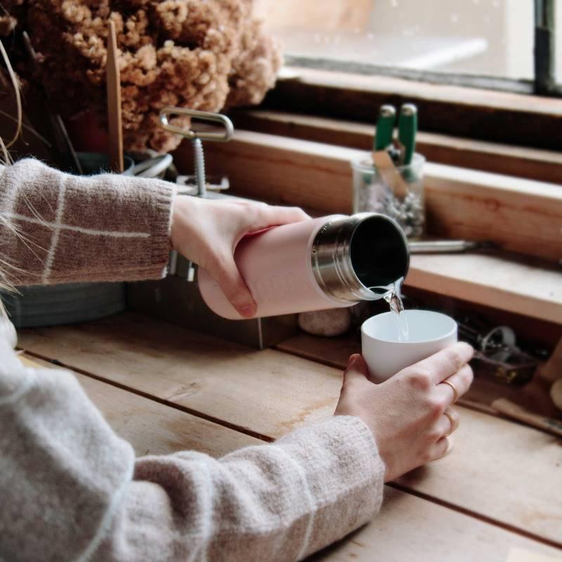 Dopper Dopper drinkfles Insulated –  Isoleerfles Steamy Pink (roze)
