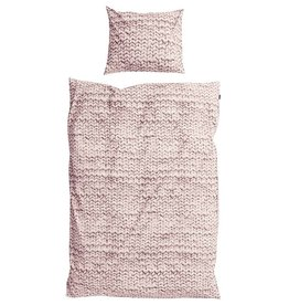 SNURK beddengoed HOUSSE DE COUETTE FLANELLE TWIRRE  rose
