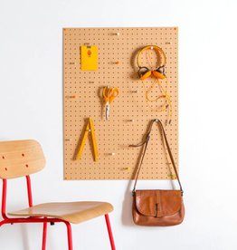 Block Pegboard large Naturel