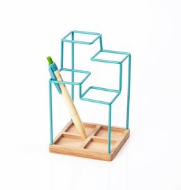 Block Porte stylo - bleu