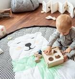 Play&Go Ijsbeer Speelmat/Opbergzak SOFT