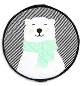 Play&Go Ours polaire sac de jouets/ tapis de jeu SOFT