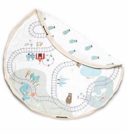 Play&Go Trainmap Sac de jouets - tapis de jeu