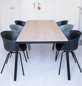 Opsmuk Table chêne (noir)