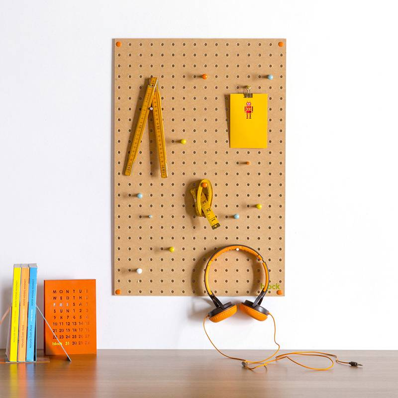 Block Pegboard medium Naturel