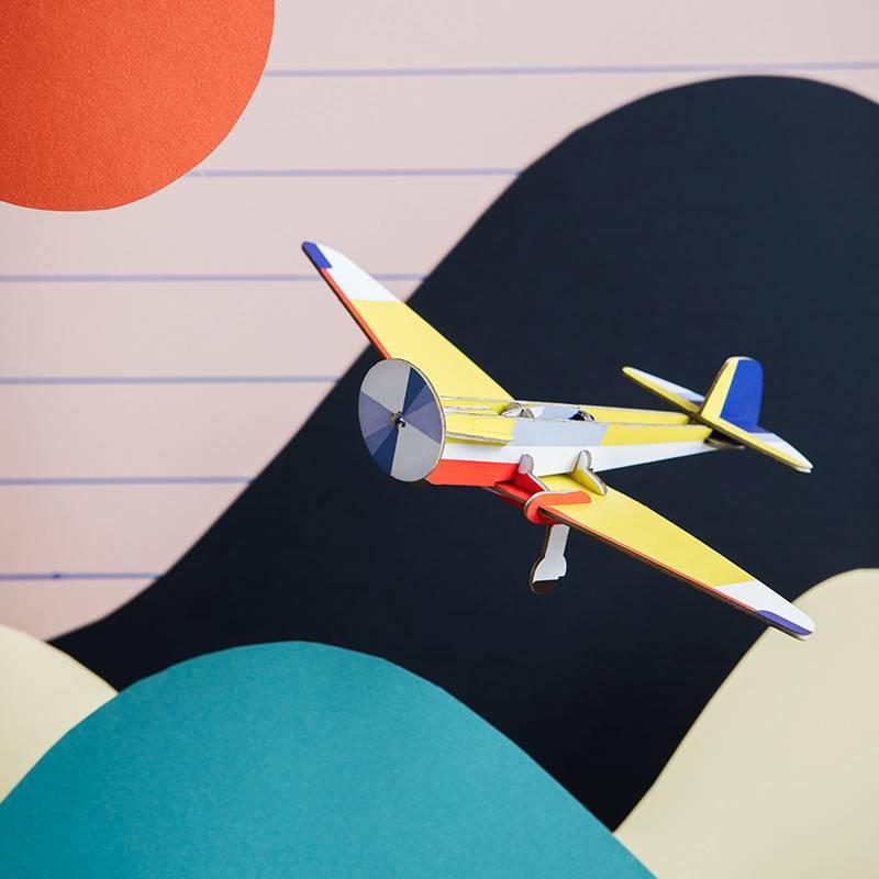 Studio Roof Cool klassiek vliegtuig Aiglon 3D puzzel
