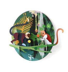 Studio Roof Jungle monkeys 3D puzzle