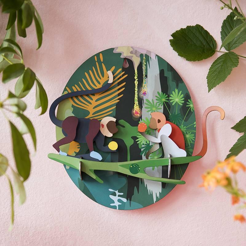 Studio Roof Singes de la jungle 3D puzzle