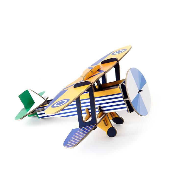 Studio Roof Cool klassiek vliegtuig Goshawk 3D puzzel