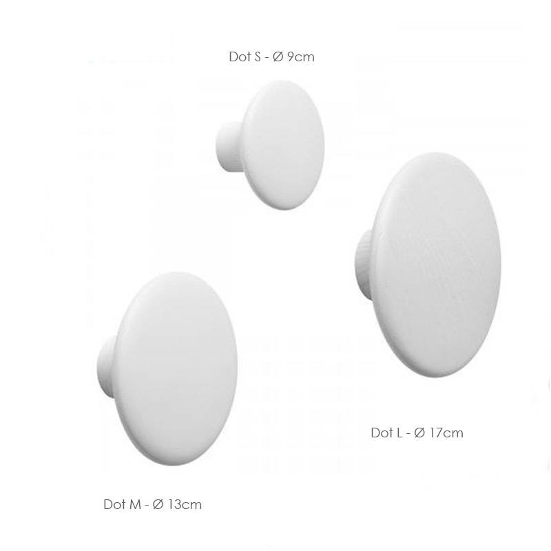 Muuto Dot kledinghaak Small