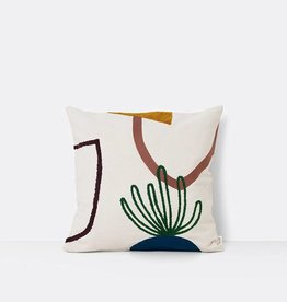 Fermliving Mirage Cushion - Island