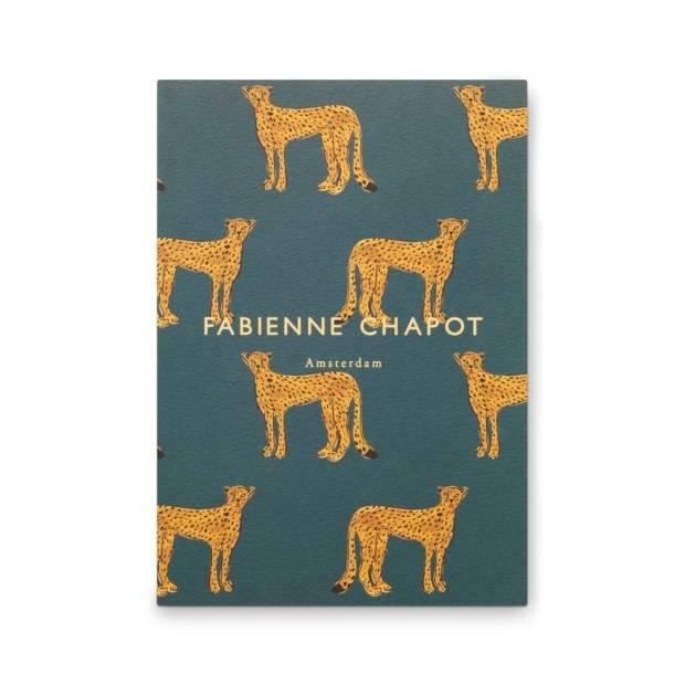 Fabienne Chapot Cahier A5 Cheetah