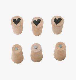 VTwonen Magneten (6 stuks)