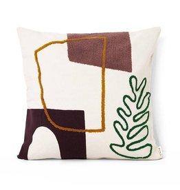 Fermliving Mirage Cushion - Leaf