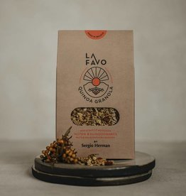 La Favo Granola  Quinoa met noten & duindoornbes