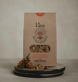 La Favo Noten & duindoornbes Granola  Quinoa