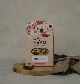 La Favo Gepofte Quinoa & Bessen Granola Quinoa