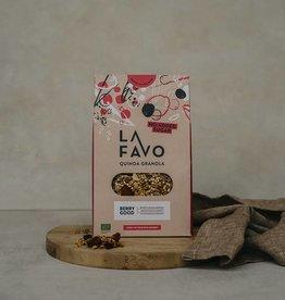 La Favo Granola Quinoa soufflé et baies