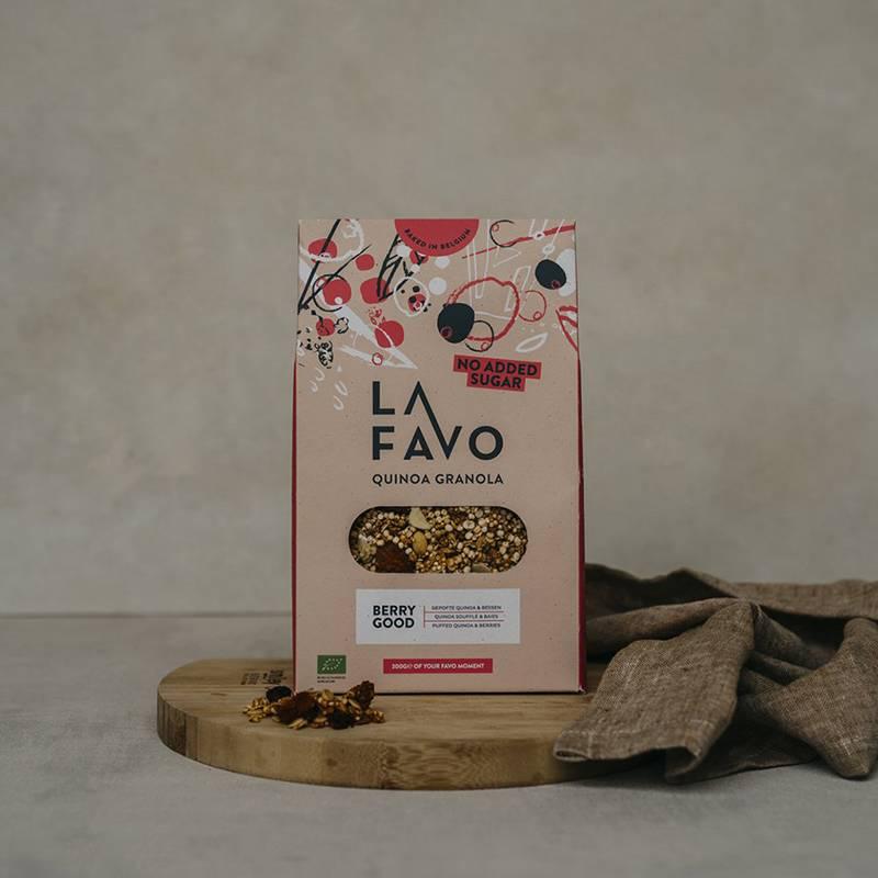 La Favo Granola Quinoa soufflé et baies par Sergio Herman