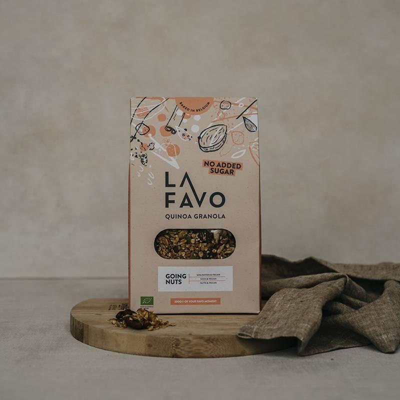 La Favo Granola Walnoten & Pecan