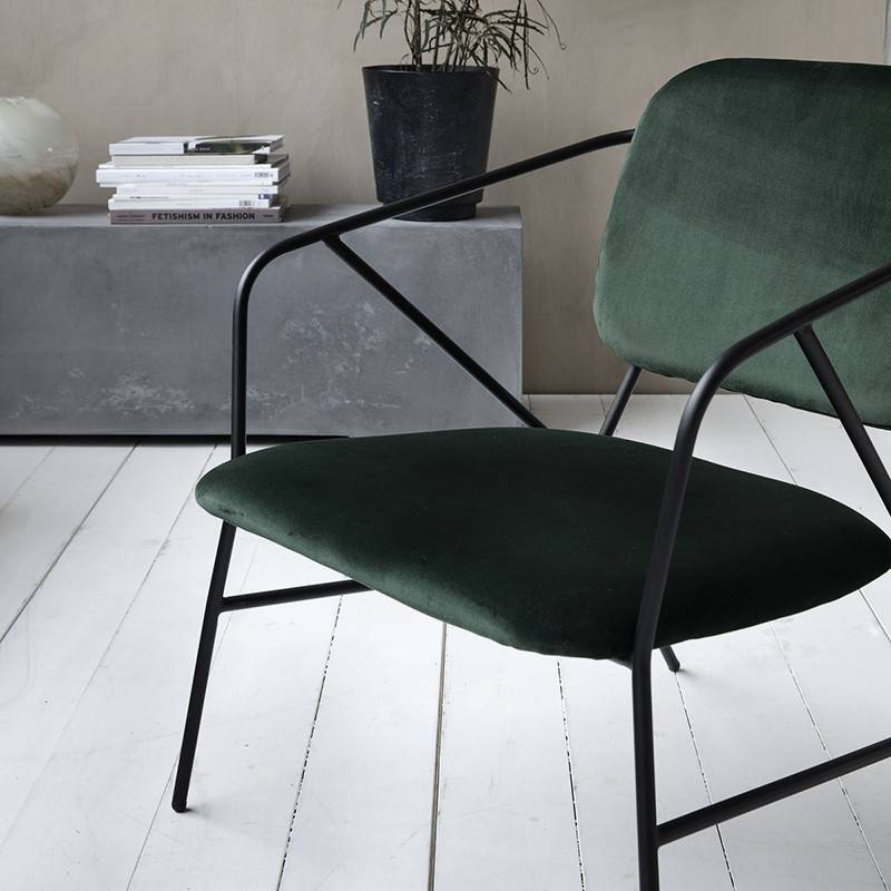 House Doctor Lounge chair Klever - groen