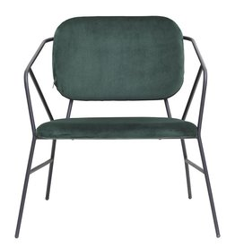 House Doctor Lounge chair Klever - vert
