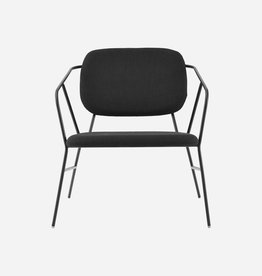House Doctor Lounge chair - Klever - noir