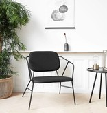 House Doctor Lounge chair - Klever - zwart