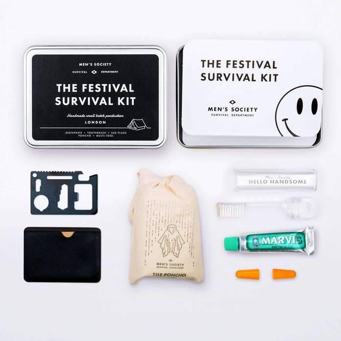 Men's Society Festival Survival kit