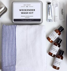 Men's Society Travel - Festival kit Weekend wash kit