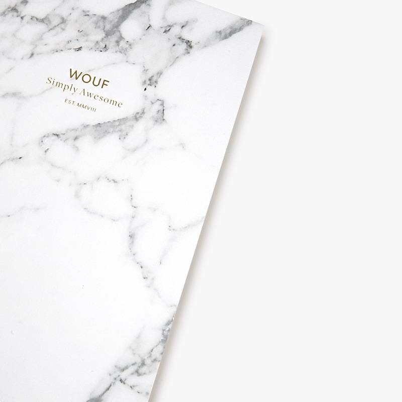 Wouf Cahier A6 - Wouf