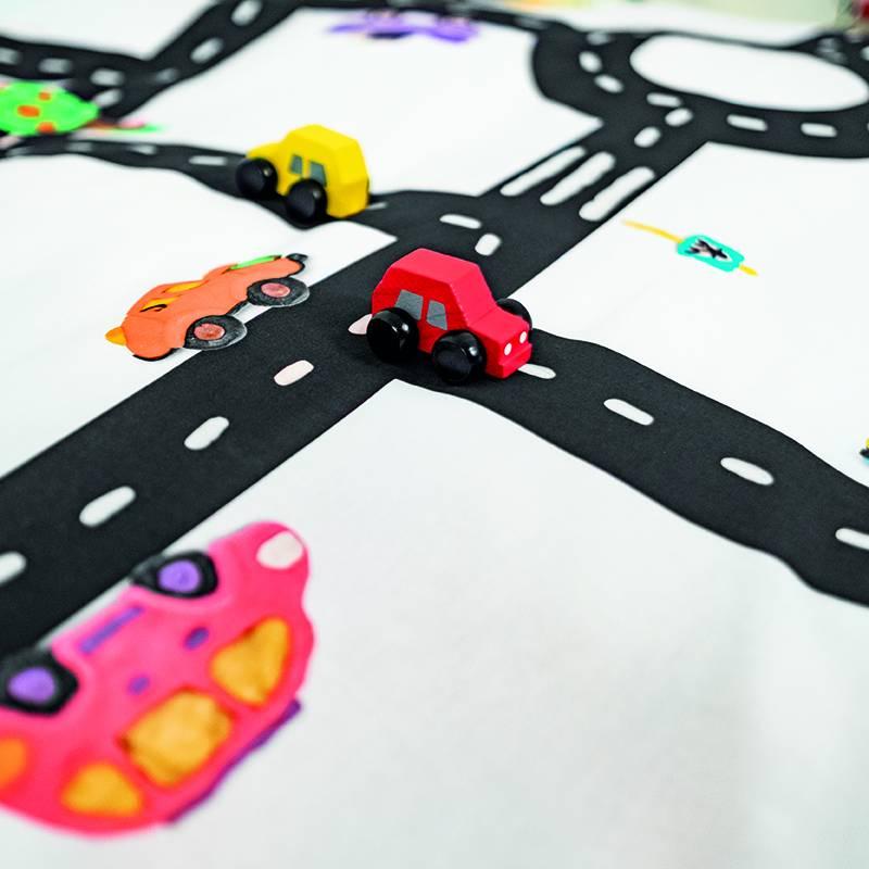 SNURK beddengoed Autobaan dekbedovertrek -Clay traffic